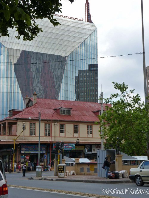 Old meets new in downtown Jozi