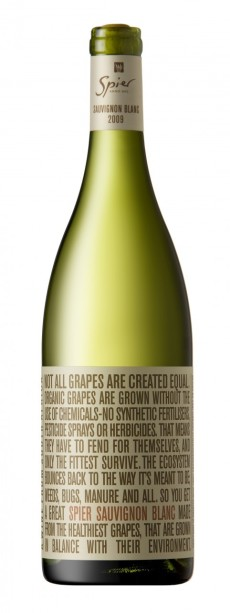 Spier Organic Savignon Blanc