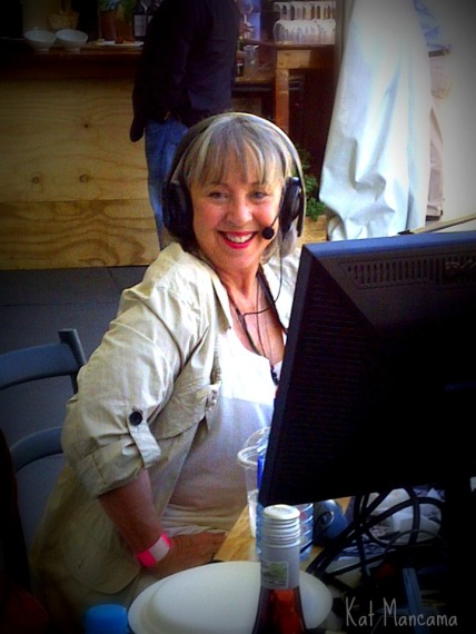 And my favourite radio talk show host, Jenny Crwys-Williams!