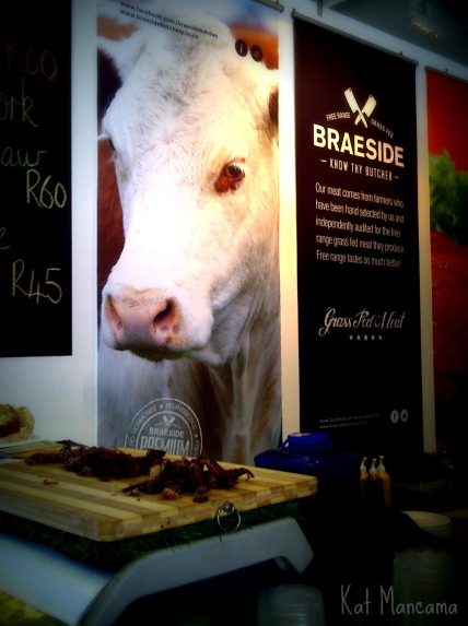 Grass fed meat, and the best biltong in town