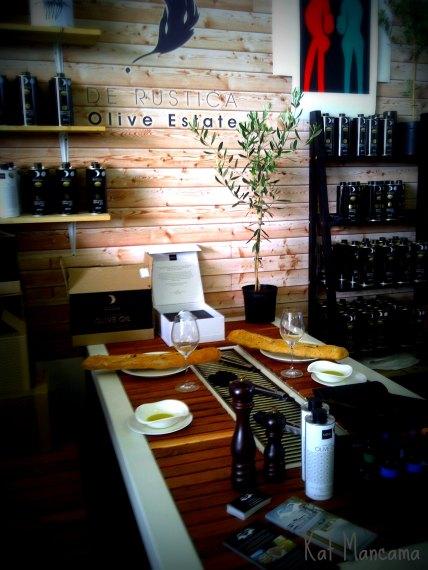 Olive oil galore