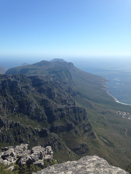 Cape Peninsula from Table Mountain