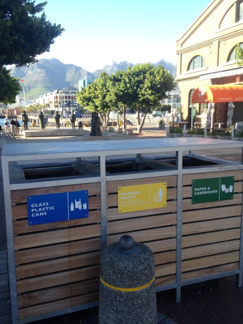 Recycling at V&A Waterfront