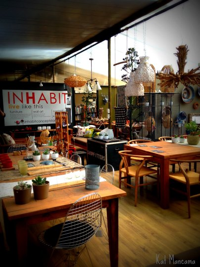 Cool designs at Inhabit Concept Store
