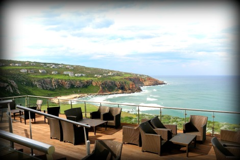 Where worlds collide - the POHO tour starts at Pinnacle Point, a golf estate located on top of the caves